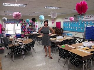 One of my college friends created one of the most incredible and creative classrooms this year!!! :) vote for her!! Schoolgirl Style Challenge Finalist #4  www.schoolgirlstyle.com  Rock Star Themed Classroom