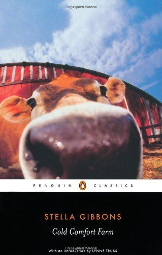 Cold Comfort Farm (Penguin Classics) by Stella Gibbons, http://www.amazon.co.uk/dp/0141441593/ref=cm_sw_r_pi_dp_Jg.Csb0T84HE0