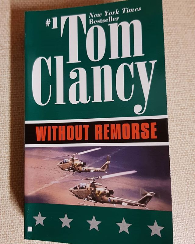 Re-reading my favourite author's books and the #jackryan series #tomclancy