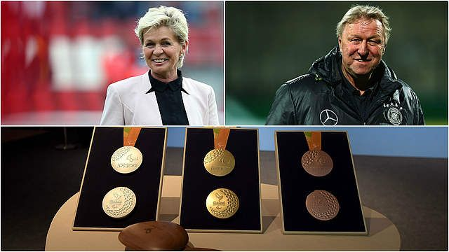 There are barely three weeks to go until the start of the Olympic Games in Rio de Janeiro (3rd to 20th August). Silvia Neid's DFB women's team and Horst Hrubesch's Olympic team will be taking part in the tournament for the first time.