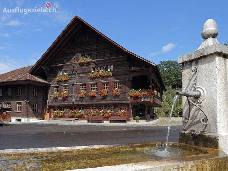Ausflugsziele.ch ® - Das Emmental in einem Haus