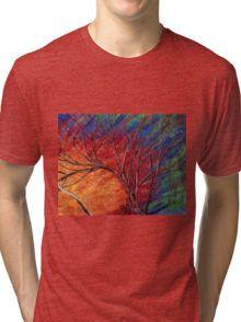 Fractured Skies Tri-blend T-Shirt