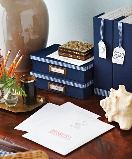 Project 31. Boxes or magazine holders + pretty ribbon = more organized-looking home accessories • DIY project via House and HomeDiy Ideas, Officecraft Organic, Storage Boxes, Diy Custom, Boxes Custom, Offices Accessories, Diy Projects, Home Offices, Offices Supplies