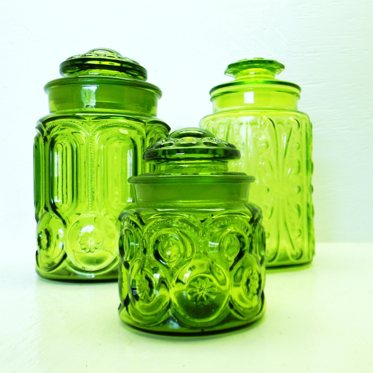 Green Kitchen Canisters: 25+ Best Glass Canisters Ideas On Pinterest