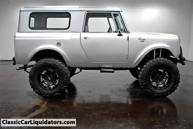 Classic Car Liquidators 1965 International Scout 4x4 Full Custom -