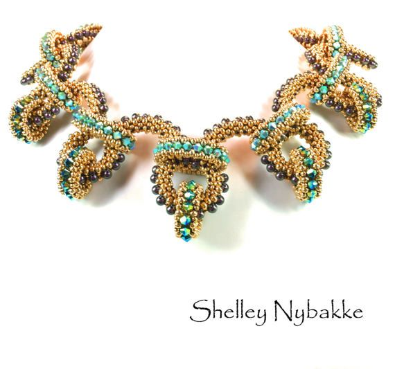 Robust Rendezvous Necklace Tutorial  pdf by SturdyGirlDesigns