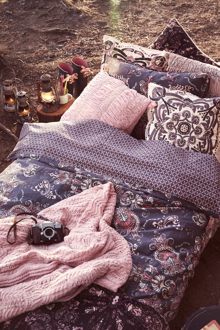 Odd Molly home interior collection FW15 | Interior design | Pillows and bedset | Scandinavian interiors | Into the woods | Sleeping under the stars | www.oddmolly.com