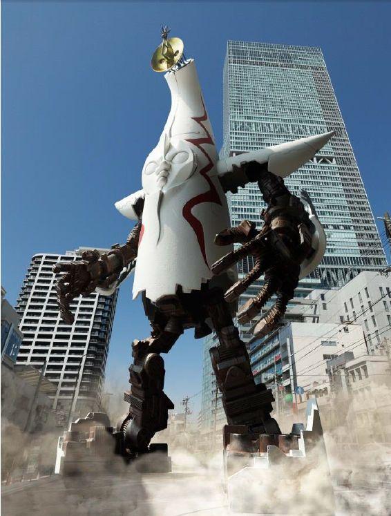 あの「太陽の塔」が塔→ロボ→超兵器発動形態にまさかの三段変形する「超合金 太陽の塔のロボ」