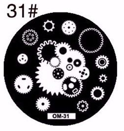 Nails - NAIL ART IMAGE STAMPING PLATE (OM-SERIES) for sale in Virginia (ID:219245713)
