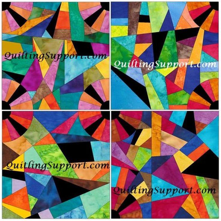 Crazy Fan Paper Foundation Patterns Set 2 | Craftsy