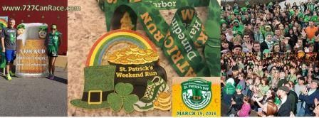 St. Patricks Day Runs In Dunedin and Downtown Historic Palm Harbor 2016