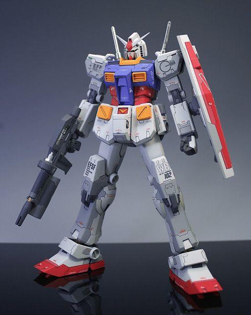 1/100 RX-78-2 Gundam Ver. Ka – Custom Build   patrickgrade