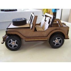 Willy's Jeep Flatpack Kit