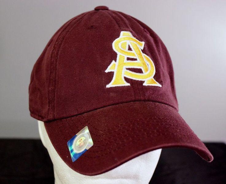 arizona state sun devils baseball hat strapback cap