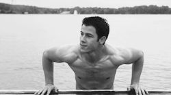 Nick Jonas - - - I think this is the hottest Nick photo I've seen.