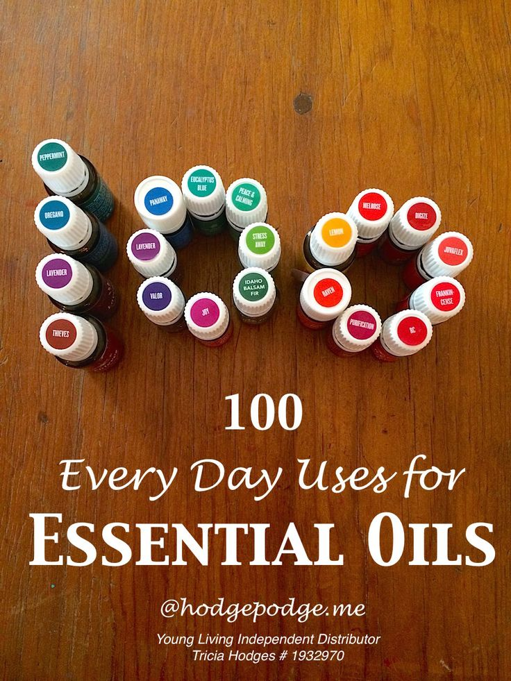 Over 100 every day uses for essential oils from a practical view. For promoting health, in recipes, for relaxation - plus how to get started with oils.