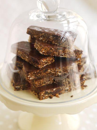 Choco chip Müsli Bars, Leila Lindholm