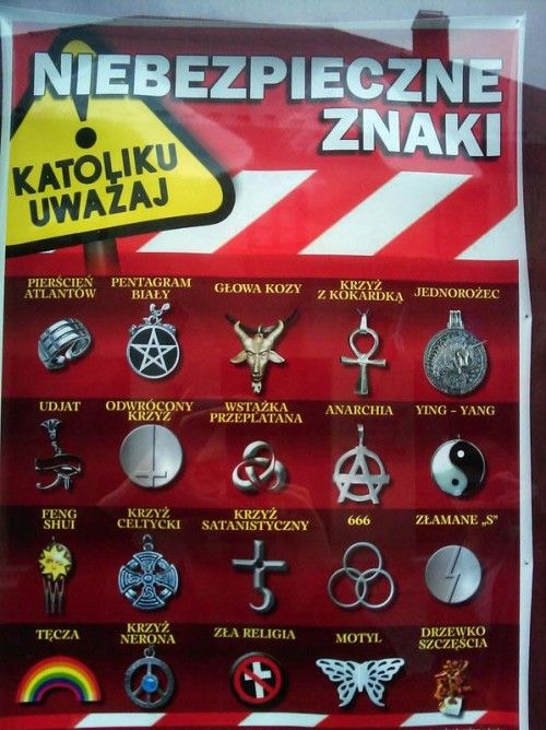 Niebezpieczne znaki satanistyczne i ezoteryczne - Niebezpieczne Symbole - Cóż nowego?...Pod słońcem - bloog.pl