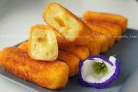 Картофельные палочки с сыром   Школа шеф-повара