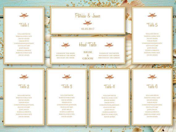 Best Beach Wedding Invitation Templates Seashell Songs Images - Wedding invitation templates: seating chart template wedding