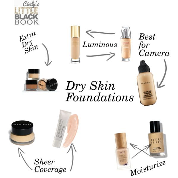 """Dry Skin Foundations"" - Best Foundations for Dry Skin"