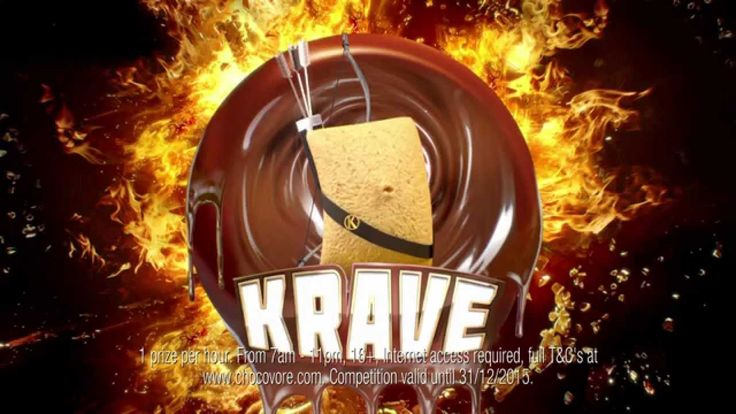 Kelloggs Krave TV Commercial - Inc Hunger Games Win Exclusive