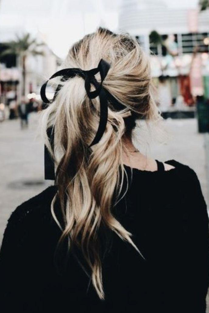 black ponytail hairstyles