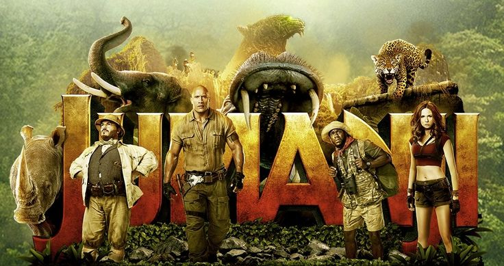 Jumanji - 3 movie clips: https://teaser-trailer.com/movie/jumanji/  #Jumanji #JumanjiMovie #DwayneJohnson #JackBlack #KevinHart #KarenGillan #NickJonas #AlexWolff