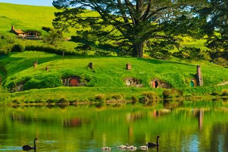 """""""In a hole in the ground there lived a hobbit..."""" ~J.R.R. Tolkein"""