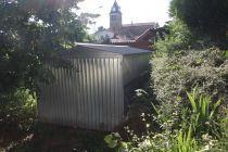 Garage / Abri de jardin en tôles ondulées