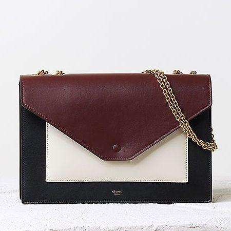 Celine AW14 Pocket handbag in Seashell. www.handbag.com