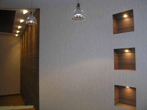 Картинки по запросу декоративные ниши из гипсокартона