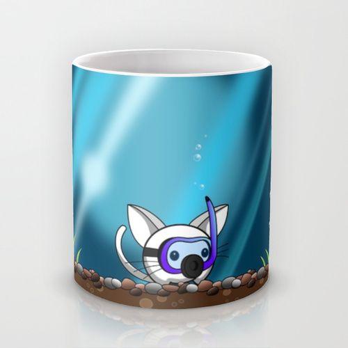 Underwater World Mug by Goat Games | Society6
