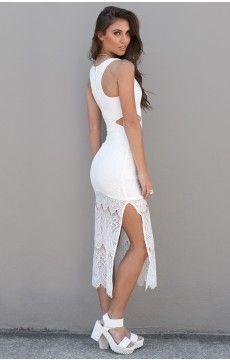 Snowflake Maxi Dress