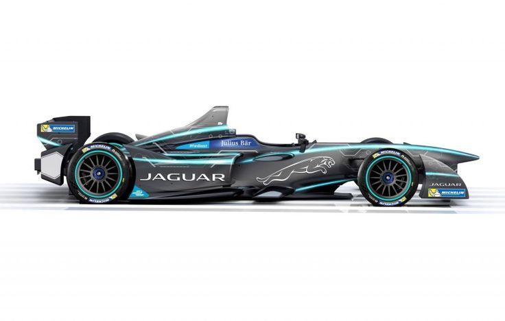 Visit The MACHINE Shop Café... ❤ Best of Racing @ MACHINE ❤ (2017 Jaguar Formula E 32 returns to racing w/ their Formula E team)