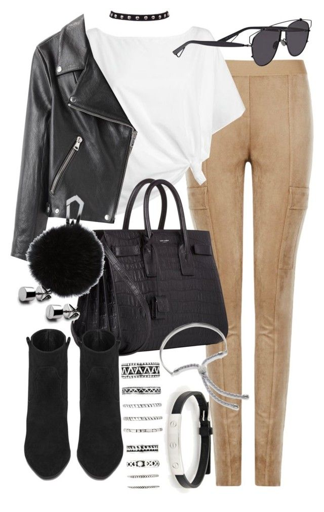 """""""Untitled #20356"""" by florencia95 ❤ liked on Polyvore featuring Cartier, BCBGMAXAZRIA, Red Herring, Acne Studios, Christian Dior, Yves Saint Laurent, Monica Vinader and Forever 21"""
