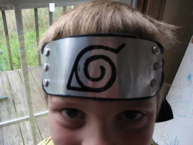 Picture of How to Make a Naruto Style Headband