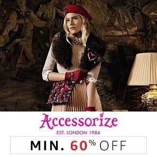 Accessorize Min 50% off