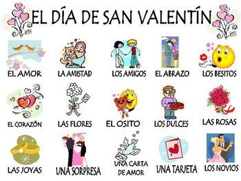 Spanish Valentine's Day Unit! (El Dia de San Valentin) (2