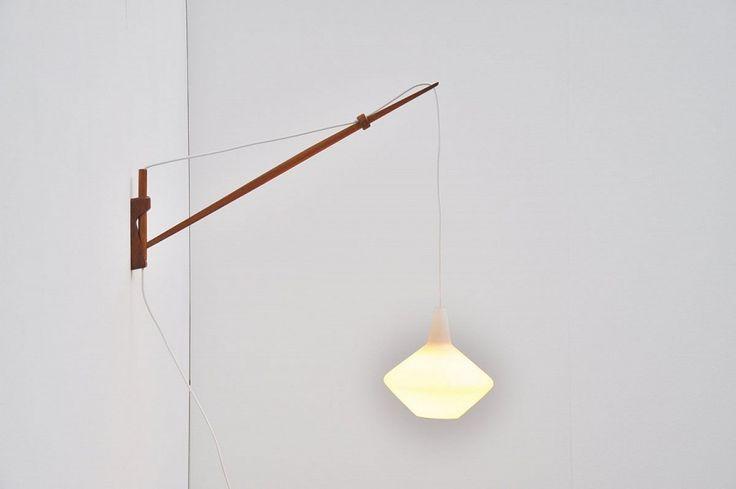 Lisa Johansson Pape Arc Wall Lamp Finland 1954 | Mass Modern Design