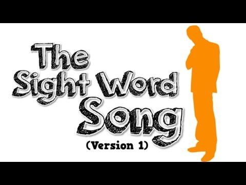 The Sight Word Song (Version 1) - YouTube