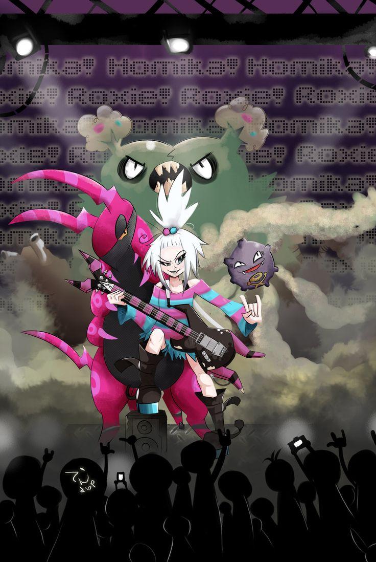 N and touko wedding - Roxie Homika Fan Art C Toxic Rock