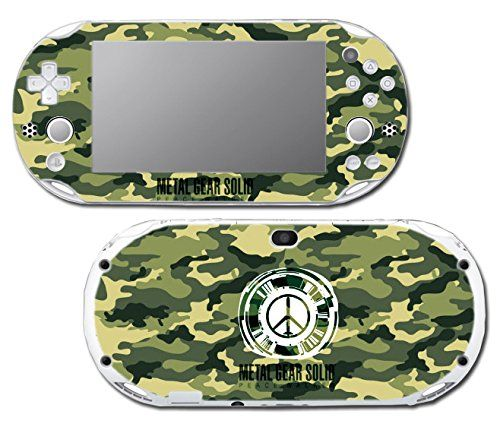Metal Gear Solid 3 Peace Walker Camo MGS Video Game Vinyl Decal Skin Sticker Cover for Sony Playstation Vita Slim 2000 Series System *** You can get additional details at the image link.Note:It is affiliate link to Amazon.