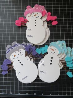 Snowman+Gift+Tags