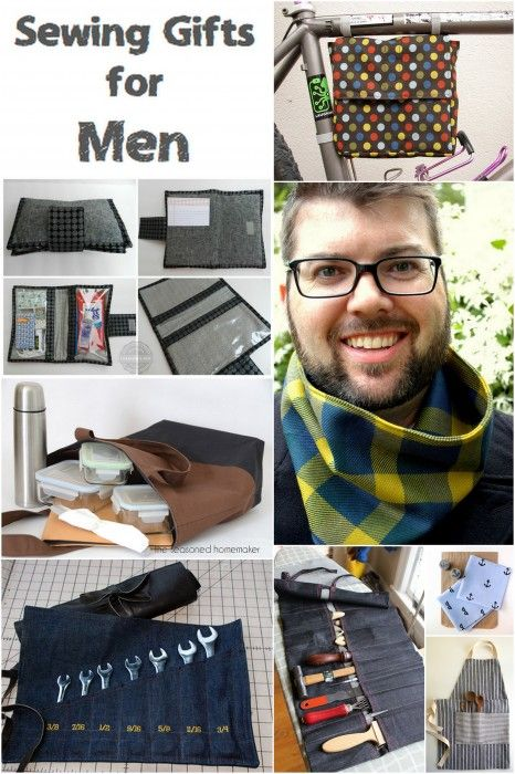 Sewing Gifts for Men | http://fabricshopperonline.com/sewing-gifts-men/