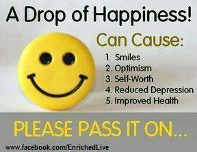 Happiness - Pay it forward!