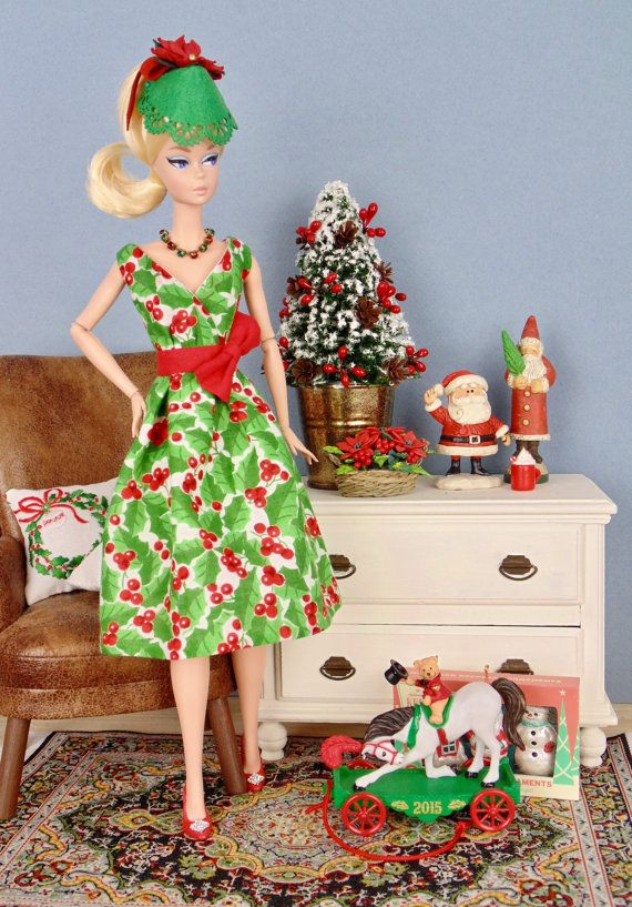 Holly Berry for Barbie Poppy Parker and Victoire by HankieChic