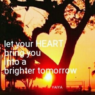 Let your HEART bring you into a brighter tomorrow - Lyrics from Pure Heart by YAIYA @empressyaiya Design by @carolasiekas #tree #heart #ymperia #love #yaiya #freedom #thirdeye #energy #harmony #life #dreams #pureheart #art #design #music #storyteller