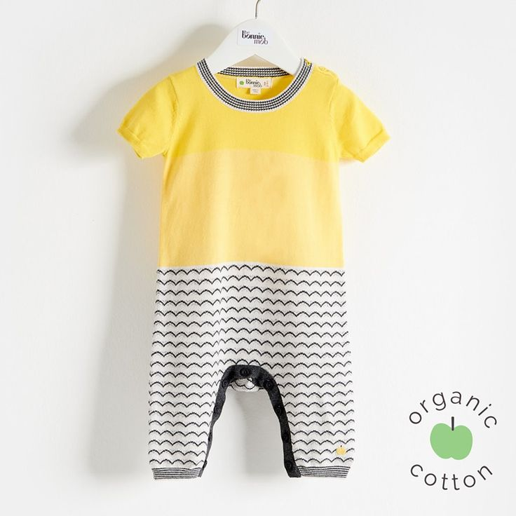 GUPPY Organic Cotton Yellow Playsuit