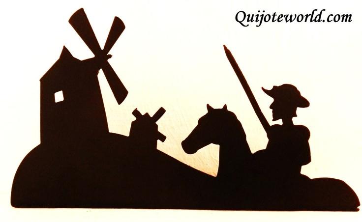 Siluetas metálicas de la figura de don Quijote de la Mancha. Pensadas para una decoración original, artesanía única con diseños exclusivos. Arte para decorar, Wall art Puedes ver nuestro catalogo en www.quijoteworld.com